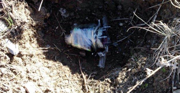 Teröristler anaokul bahçesine bomba bıraktı