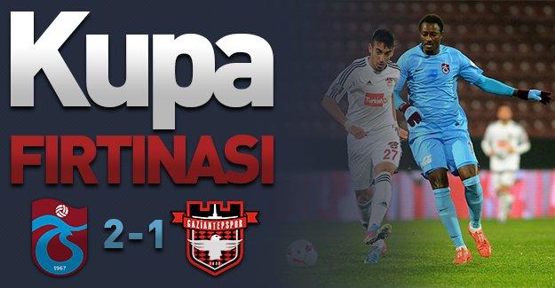 Trabzonspor'dan muhteşem geri dönüş! (Trabzonspor 2-1 Gaziantepspor)
