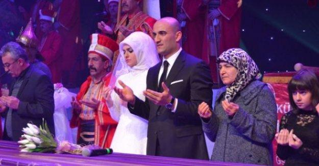 Ülkü Ocakları Genel Başkanı evlendi