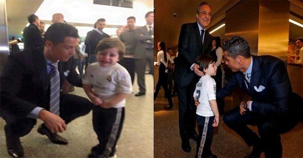 Yahudi medyasının hedefindeki Ronaldo'dan örnek davranış!