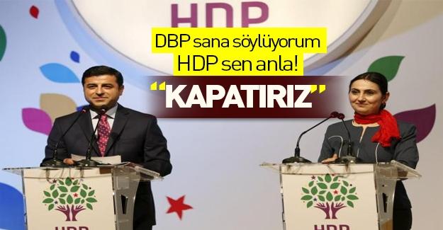 Yargıtay Başsavcısı'ndan DBP'ye özerklik uyarısı!