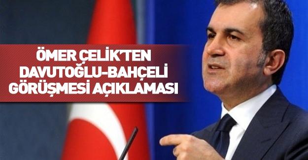 AK Parti-MHP görüşmesi! Ömer Çelik'ten flaş açıklama...