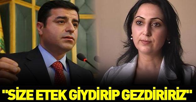 """HDP'li vekile çok sert tepki: """"Size etek giydirip gezdiririz"""""""