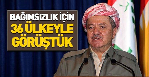 Barzani'den bağımsızlık açıklaması