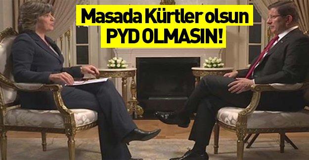 Başbakan Davutoğlu CNN International'da konuştu