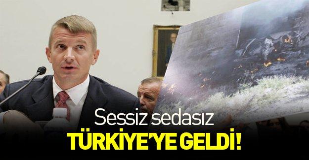 Blackwater'ın kurucusu Türkiye'ye geldi mi?