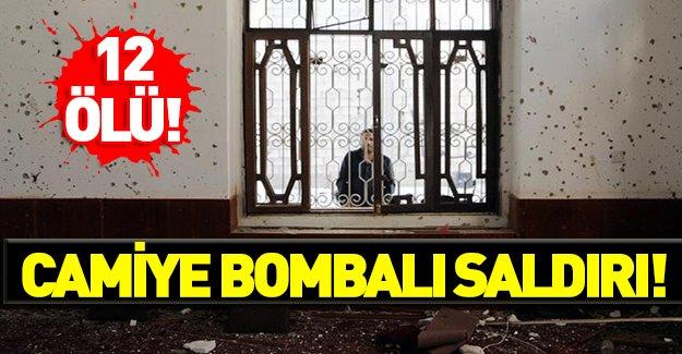 Camiye intihar saldırısı: 12 ölü!