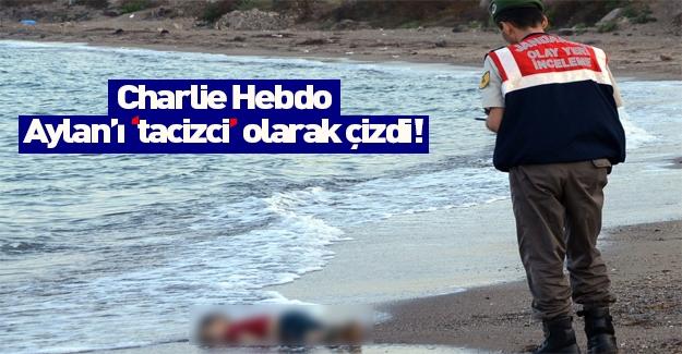 Charlie Hebdo dergisinden Aylan'a bir hakaret daha!