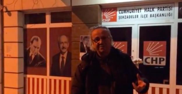 CHP'li eski başkandan mescit protestosu!