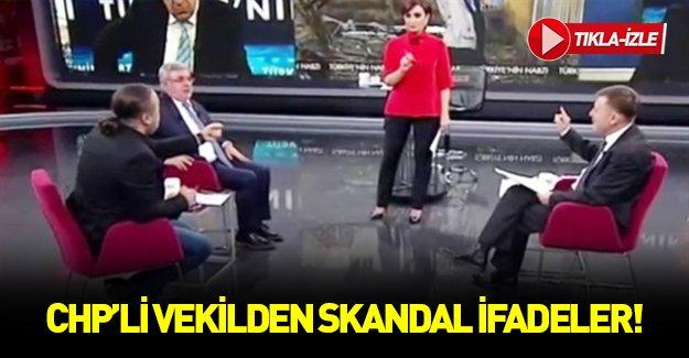 """CHP'li vekilden skandal """"terörist"""" açıklaması!"""