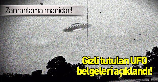 CIA UFO belgelerini açıkladı!