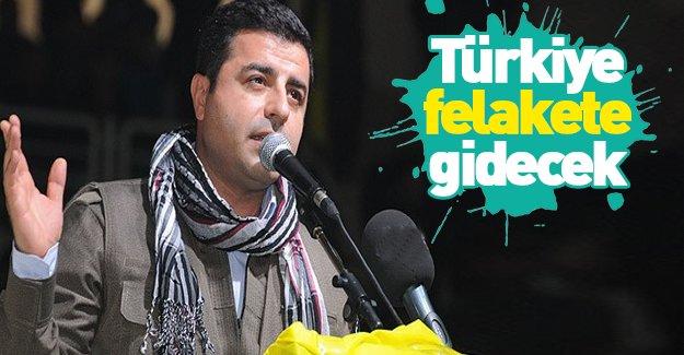 Demirtaş'tan skandal ifadeler!