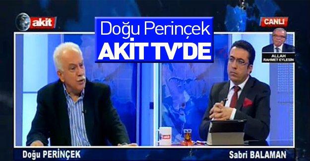 Doğu Perinçek Akit TV'ye çıktı!