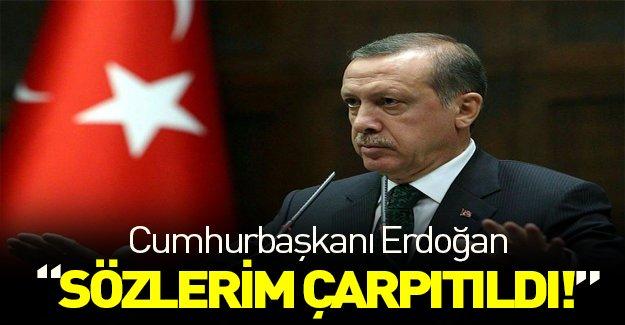 """Erdoğan """"Hitler Almanyası"""" sözlerinin çarpıtıldığını söyledi"""