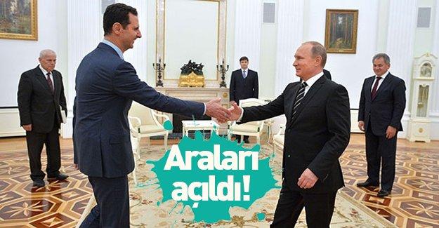 """Esed'le Putin'in """"araları açıldı""""!"""