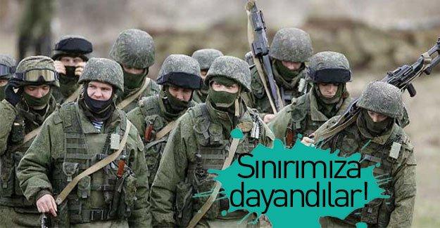 Flaş gelişme: Rus askeri Türkiye sınırına dayandı!
