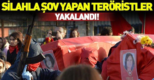 Gaziosmanpaşa'da silah gösterdiler Şanlıurfa'da yakalandılar