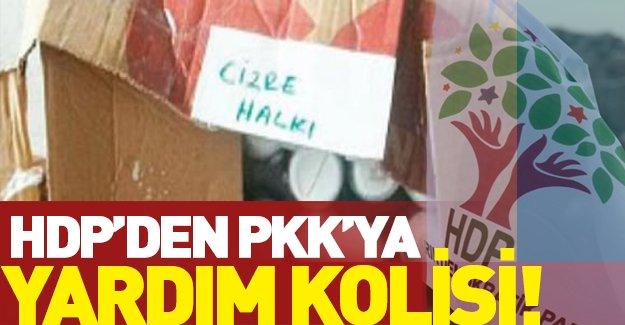 HDP'den PKK'ya Koli Koli Yardım