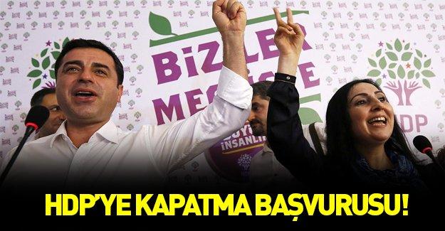 HDP'ye kapatma başvurusu
