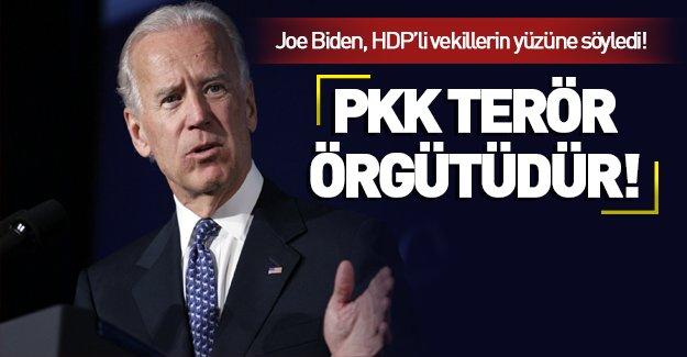 Joe Biden vekillerle Kürt meselesini görüştü