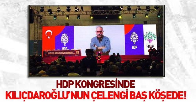 Kılıçdaroğlu HDP kongresine çelenk gönderdi!