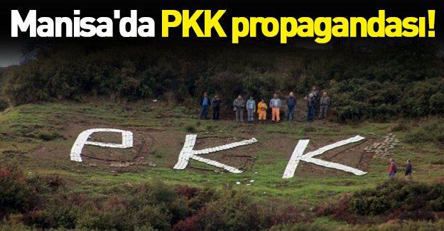Manisa'da gerginlik yaratan PKK propagandası