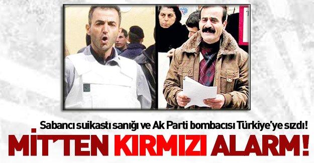 Mit'ten 'kırmızı alarm' : Eylemciler Türkiye'ye Sızdılar!