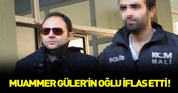 Muammer Güler'in oğlu iflas etti!