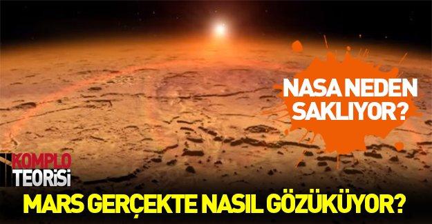 NASA Mars'ın gerçek renklerini neden saklıyor?
