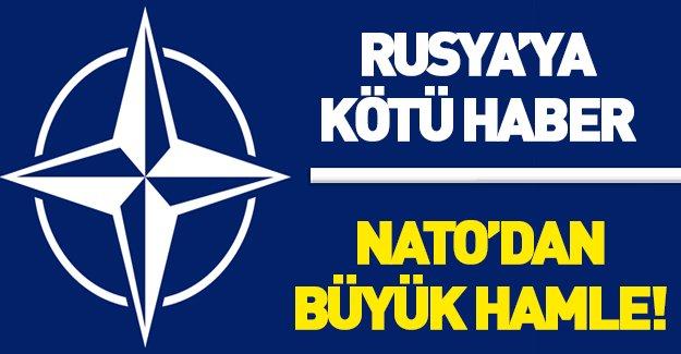 NATO'dan Rusya'ya karşı büyük hamle