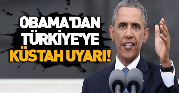 Obama'dan Türkiye'ye Çağrı: Irak'tan Askerini Çek