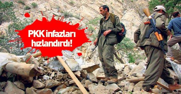 PKK infazları hızlandırdı!