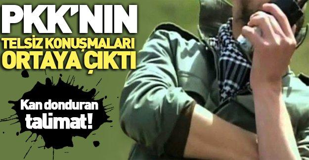 PKK'lıların korkunç talimatı!