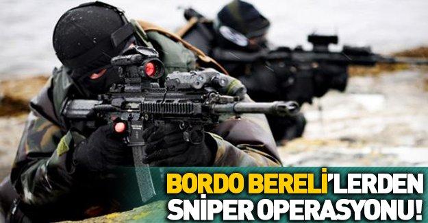 Bordo Bereliler PKK'ya kan kusturuyor!