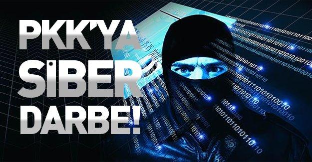 PKK'ya siber darbe indirildi!