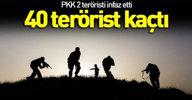 Pkk Yaralı Terörstleri İnfaz Etti!