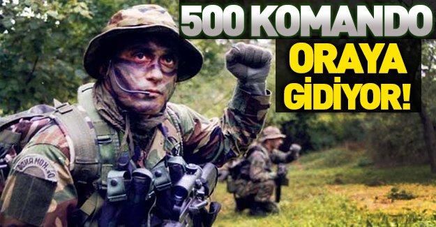 PKK'yı korkutacak adım! 500 komando Cizre'de