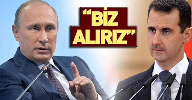 Putin Esed'e kapıları açtı!