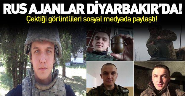 Rus ajanlar Diyarbakır'da!