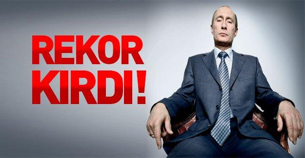 """Rusya """"rekor"""" kırdı!"""