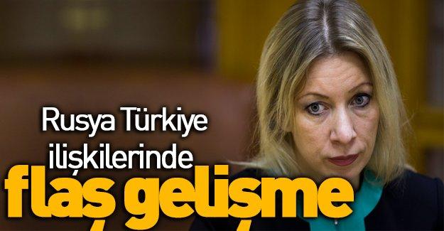 Rusya Türkiye ilişkilerinde flaş gelişme