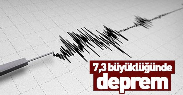 Rusya'da 7.3 şiddetinde deprem!