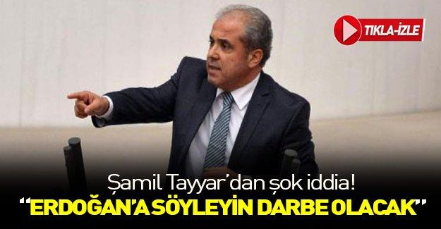 """Şamil Tayyar'dan """"Abdullah Gül"""" iddiası!"""