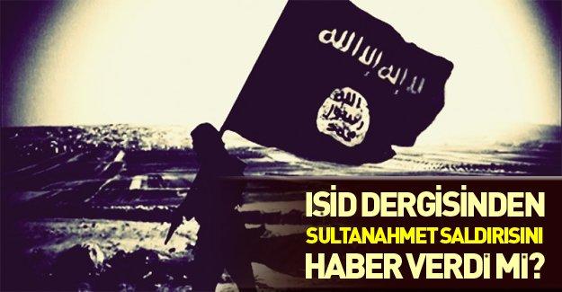 Sultahmet saldırısından önce IŞİD'in dergisinde bakın ne yazıyordu.