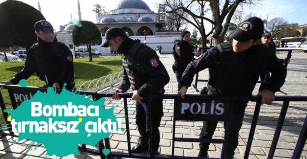 """Sultanahmet bombacısı """"tırnaksız"""" çıktı"""