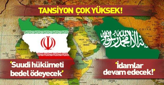 Suudi Arabistan ve İran arasında tansiyon yükseliyor!
