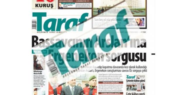 Taraf Gazetesi'ne tahliye kararı