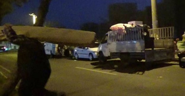Teröristler Silopi'den kaçan sivilleri taradı