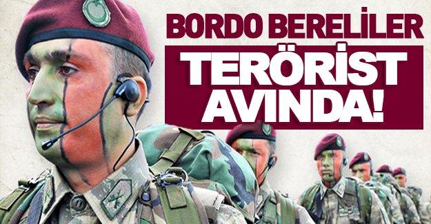 Teröristlerin korkulu rüyası Bordo Bereliler Sur'da