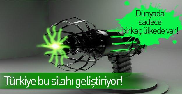 Türkiye kendi güçlü silahını geliştiriyor!